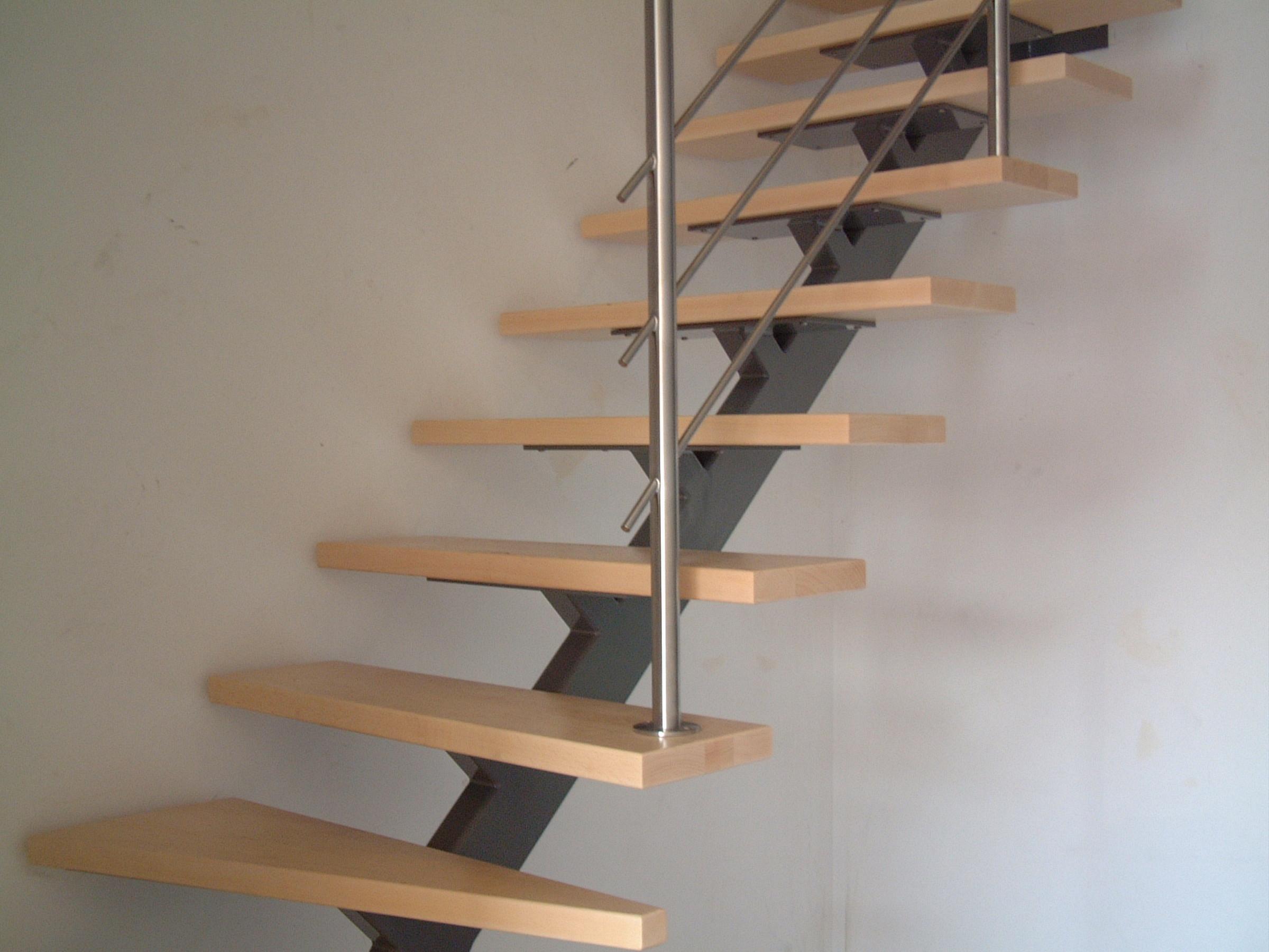 Beste huis decoratie » stalen trap met houten treden huis decoratie