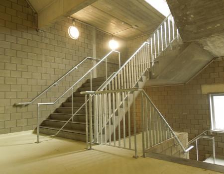 warmbad verzinkte(gegalvaniseerde) trapleuning-balustrades en handgrepen