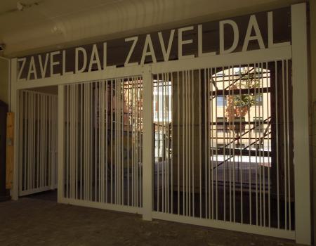 Poort model Zaveldal