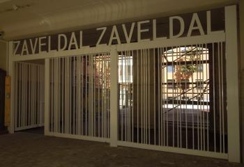 Poort model Zaveldal